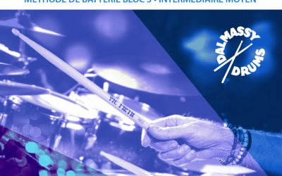 Prochainement Méthode de Batterie Rock,Funk (Intermédiaire-Moyen)